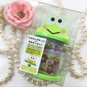 Sanrio Original keroppi washi tapes set